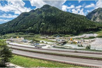 Brenner Basis Tunnel Italy